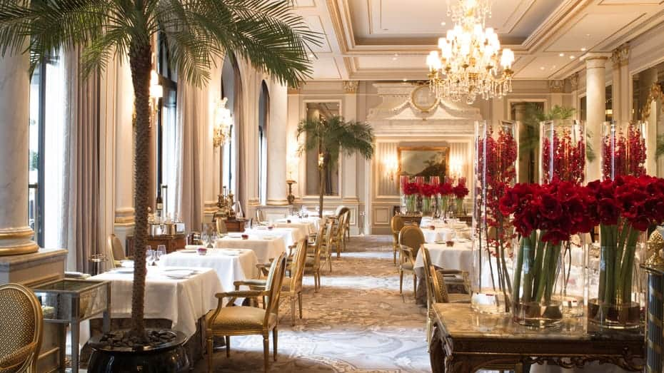 four seasons hotel paris dining1