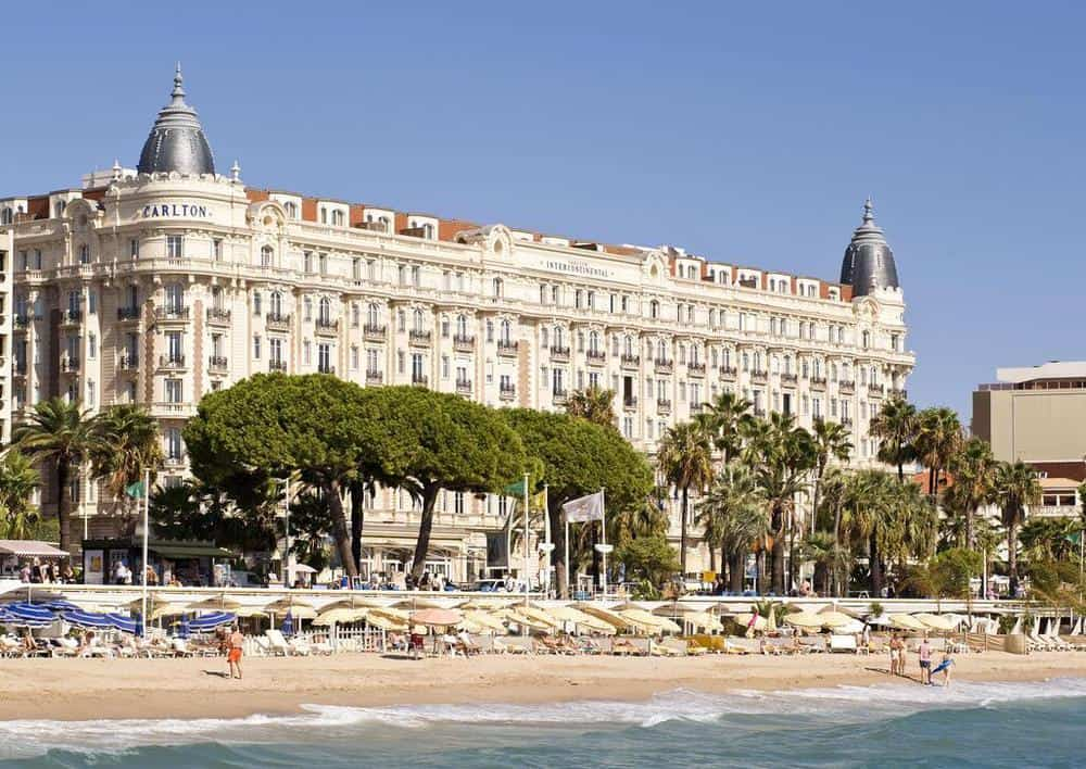 facade intercontinental cannes